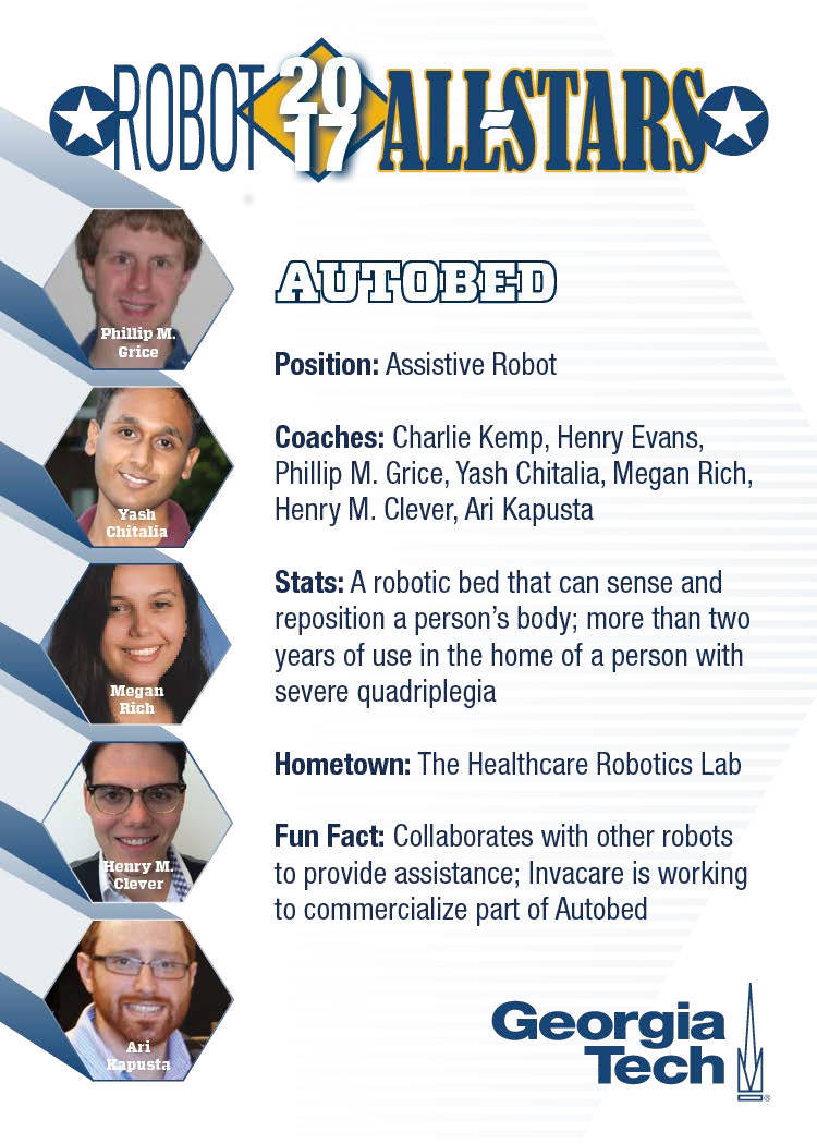 Image: The Autobed Trading Card (Back).